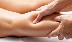sportmassage voor kuitspieren