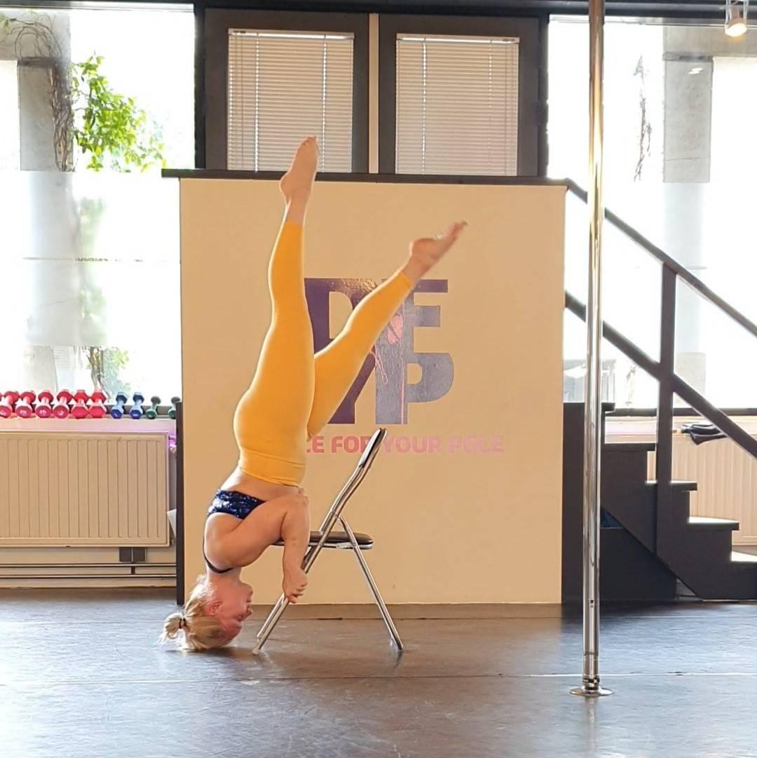chair dance trick